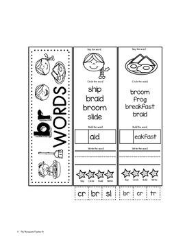 Phonics: R and L Blends