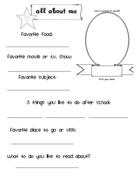 Mini-Interest Inventory/Student Questionnaire