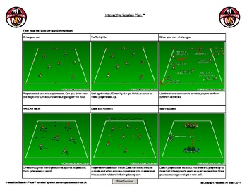 Mini Kick Soccer Session U4 & U5