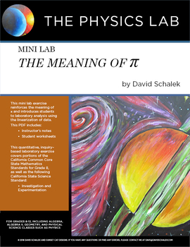 Middle School and High School Mathematics - Mini Lab: The Meaning of Pi