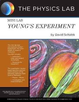 High School Physics and Physical Science - Mini Lab: Young's Experiment