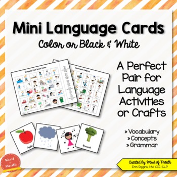 Mini Language Cards