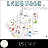 Language Mini Cards