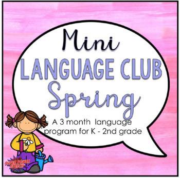Mini Language Club Spring