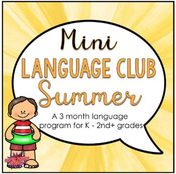 Mini Language Club Summer