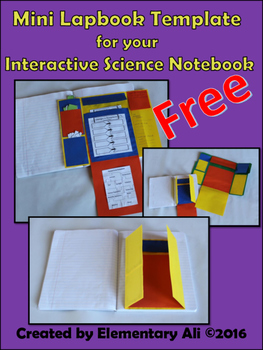 Mini Lapbook for your Interactive Notebook (Templates and How to)