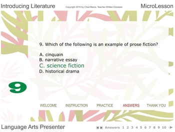 Mini Lesson 2:  Introducing Literature, Free Version