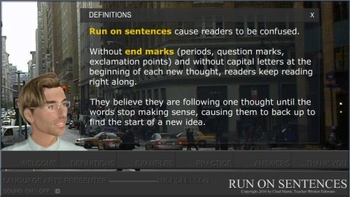 Mini Lesson 26: Run On Sentences, Free Version