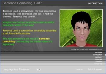Mini Lesson 28: Sentence Combining Part 1, Full Version