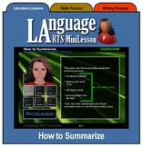 Mini Lesson 7:  How to Summarize, Full Version