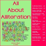 Alliteration Activities for Middle School (Grades 6, 7, 8)