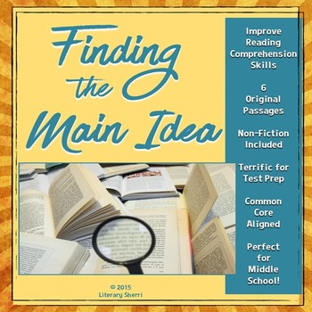 6th grade close reading lesson plans individual resources lesson finding the main idea mini lesson with non fiction texts fandeluxe Choice Image