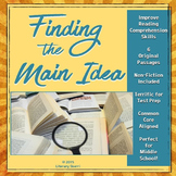 Finding the Main Idea: Mini-lesson with Non-Fiction Texts
