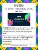 Mini Lesson: Identify Key Individuals, Events, and Ideas
