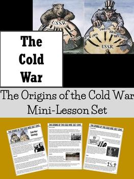 Mini Lesson Set : COLD WAR : The Origins of the Cold War -