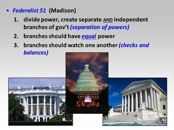 Bundled Mini-Lesson: The Federalist Papers and Ratification Poster