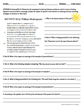 Determine the Meaning of Words and Phrases & Analyze the Impact of Word Choices