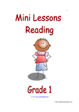 Mini Lessons - Reading - Grade 1