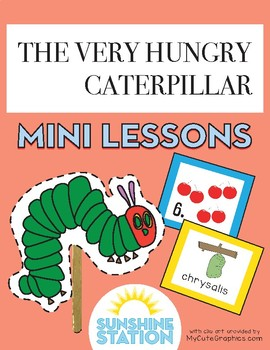 Mini Lessons - The Very Hungry Caterpillar
