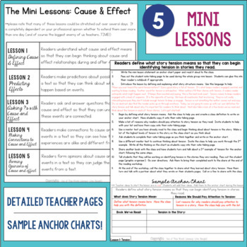 Reading Comprehension Units for Mastery- Cause and Effect
