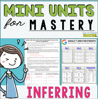 Reading Comprehension Units for Mastery- Inferring