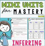 Reading Mini Unit for Mastery- Inferring | Distance Learni