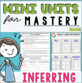 Reading Mini Unit for Mastery- Inferring | Distance Learni