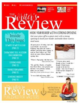 Mini-Lessons for Revising Writing - Newsletter