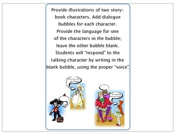 Mini-Lessons to Develop Voice in Writing (grades 2-5)