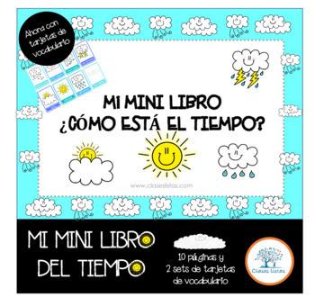 Mini Libro ¿Cómo está el Clima? Español /Spanish