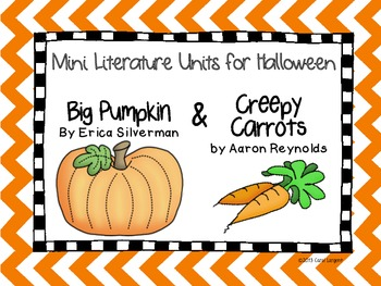 Mini Literature Units for Halloween