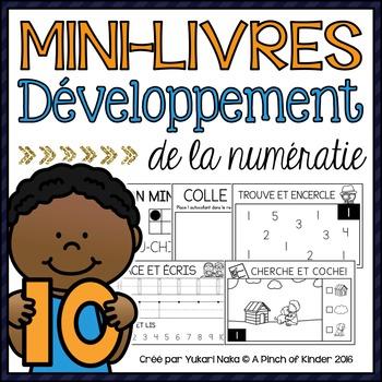 Mini-Livres Développement De La Numératie