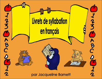 Mini-Livrets of French Phonetic Sounds (Syllabation)