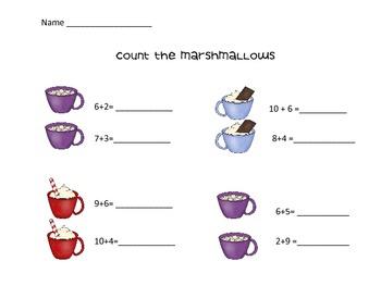Mini Marshmallow Math