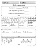 Mini Math Assessment (Common Core)