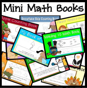 Mini Math Book Bundle