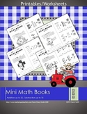 Mini Math Books (Addition and Subtraction)