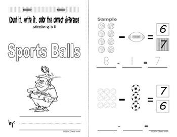 Mini Math Books (Addition and Subtraction)
