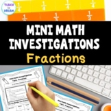 Real Life Fractions | Interactive Fractions Activities and Math Investigations