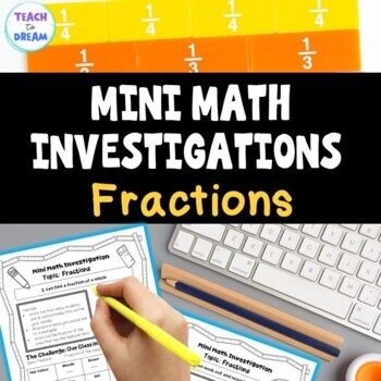 Mini Math Investigations: Fractions Tasks and Activities W