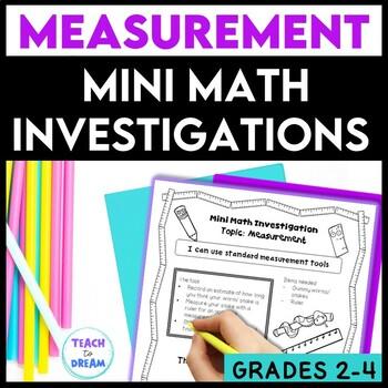 Mini Math Investigations: Measurement, Measurement Tasks a