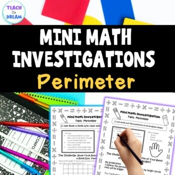 Mini Math Investigations: Perimeter, Perimeter Tasks and Activities
