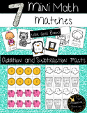 Mini Math Matches Addition and Subtraction Game to 20 / Activity / Center