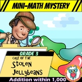Mini-Math Mystery Activity 3rd Grade - Addition within 1,000 & Word Problems