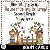 Mini-Math Mystery-Case of the Tippy-Toe Turkeys-Grade 2 -