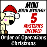 Mini Math Mystery - Christmas Order of Operations