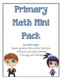 Mini Math Pack