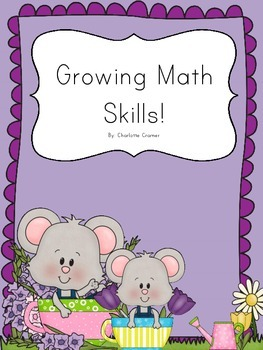 Mini Math Spring Garden Packet