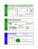 Mini Math Vocab Bundle