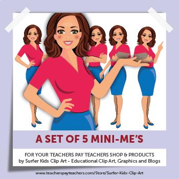Mini-Me Set for Teachers Pay Teachers Shop